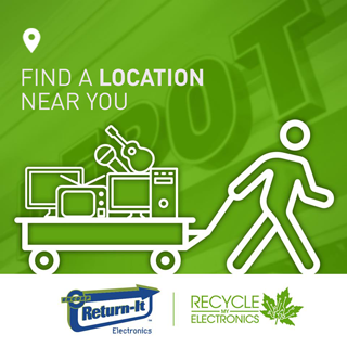 Find an Electronics Recycling Location Near You