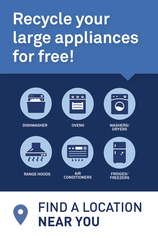 Large Appliances - Find a Location