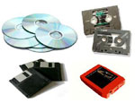 Media (No EHF Charged at Time of Purchase); CDs,Cassette Tapes, Floppy Disks, Game Cartridges