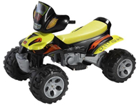 Small battery powered ride-on children's toy vehicles